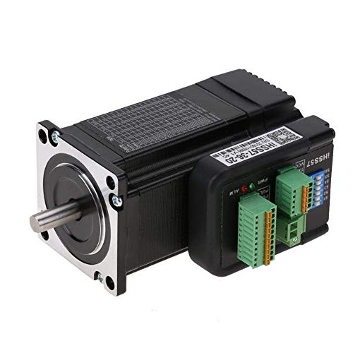 LHQ-HQ Motor paso a paso, 20-50VDC 4A Controlador de motor paso a paso para varios equipos de automatización Como CNC, impresión, máquina textil, etc.