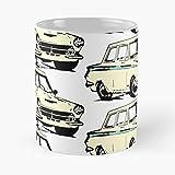 Sterling Cooper Pryce Roger Bertram -Taza de café de regalo de moda superventas negra, blanca, cambia de color 11 onzas, 15 onzas para todos…