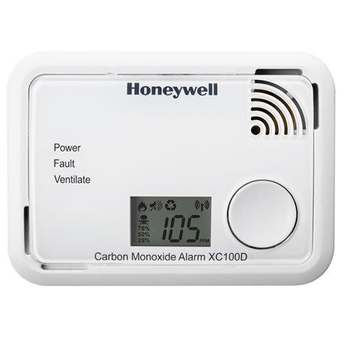 Honeywell XC100D - Alarma de monóxido de carbono