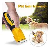 Cortador de pelo para mascotas con 2 peines de longitud (3/ 6 mm, 9/ 12 mm)