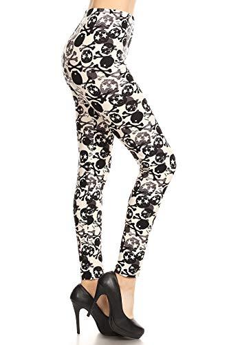 S604-OS Toxic Pops Print Fashion Leggings