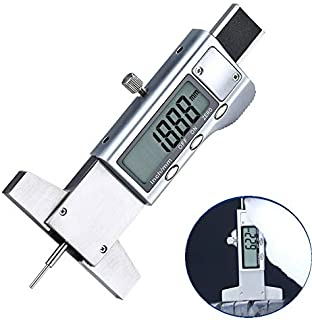 iGaging 0-4 Electronic Digital Depth Gauge SnapDepth 0.0005 Inch//Metric//Fractions Tire Tread Gage