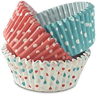UG Land India Baking Greaseproof Muffins Round Paper Cups Cake Microvave Or Oven Trey Safe in (Multicolour) Pack of 100 wi...