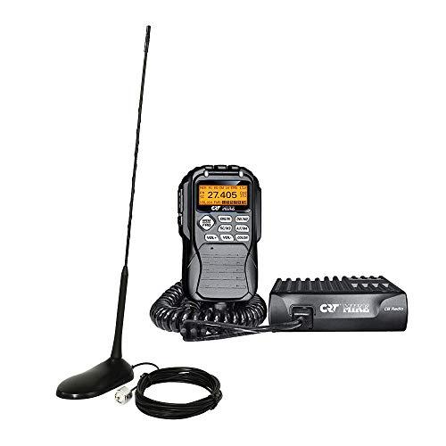 Paket Radio CB CRT Mike + PNI Antenne Extra 45 mit Magnet