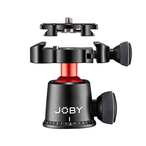 Joby JB01568-BWW BallHead 3K PRO präzisionsgefertigter Kugelkopf (mit Arca-Swiss-kompatibler Schnellwechselplatte für Premium-CSC- und spiegellose Kameras, Traglast bis zu 3kg)