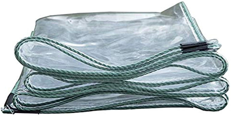 Tarpaulin Transparent Waterproof Heavy Duty Sheet Rainproof