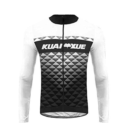 Uglyfrog Abbigliamento Ciclismo, Uomo Maglie Ciclismo Sportivo + Manica Lunga per Bicicletta CXML04F