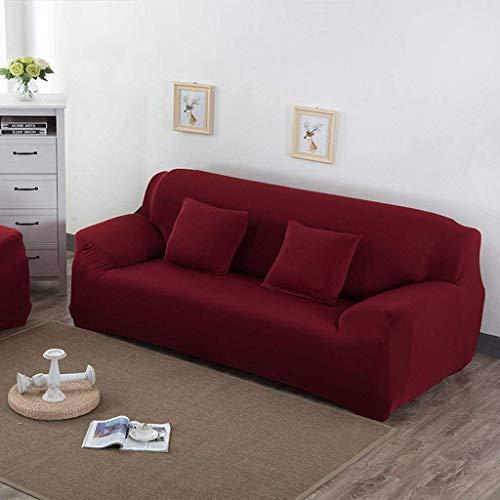 DSDD Funda de sofá elástica para sofá, Color sólido Funda de sofá Antideslizante Fundas de sofá para Silla Funda de sofá para protección de sofá Protector de Muebles Funda Deslizante para Silla-O