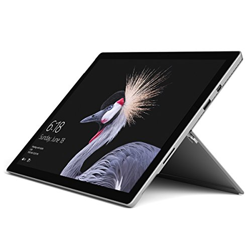 Microsoft Surface Pro FJR-00001 Laptop (Windows 10 Pro, Intel Core M, 12.3' LCD Screen, Storage: 128 GB, RAM: 4 GB) Black