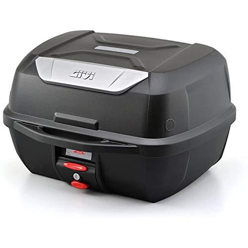 GIVI (ジビ) バイク用 リアボックス 43L 未塗装ブラック モノロックケース E43NTL 95339