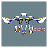 Zhbqcmou Motocross 3M Pegatinas Gráficos Fondos Decladores Kits para Sherco SE SEF 2021 2020 2018 2019 2017 2017 hnzhb (Color : Blank)
