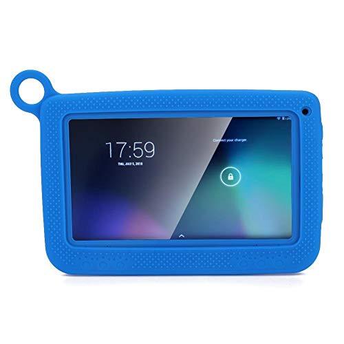 Bewinner 7 Pulgados Tableta PC para Niños,8GB ROM,300 mil Píxeles Double Cámara,2600mAh Gran Capacidad Batería,Soporte Android 4.4/5.1,Tableta Portátil Bluetooth WiFi para Educación Temprana(Azul EU)