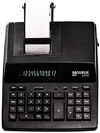 $96 » Monroe Systems for Business 6120X 12-Digit Business Medium Duty Calculator, Black