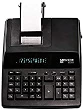 Monroe Systems for Business 6120X 12-Digit Business Medium Duty Calculator, Black photo