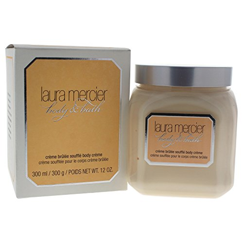 Laura Mercier Creme Brulee Souffle Body Creme for Women Body, 12 Ounce