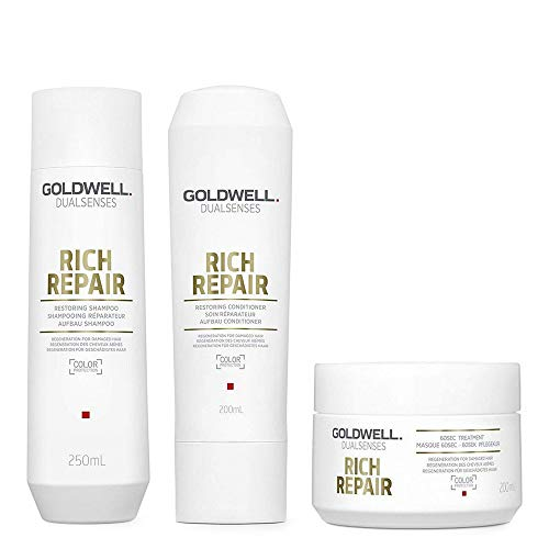 Goldwell Dualsenses Rich Repair SET Shampoo 250ml + Conditioner 200ml + 60Sek Kur 200ml
