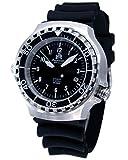Military Taucher Uhr 'Automatik Werk' Saphir Glas - verschraubte Krone T251