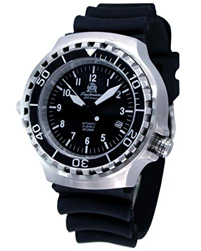 Tauchmeister Automatic Dive Watch with Helium Release Valve and Sapphire T0251