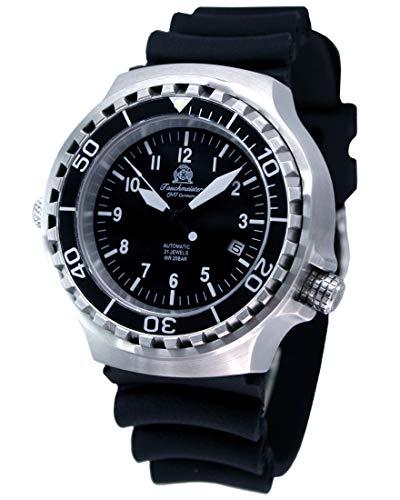 """Military Taucher Uhr \""""Automatik Werk\"""" Saphir Glas - verschraubte Krone T251"""