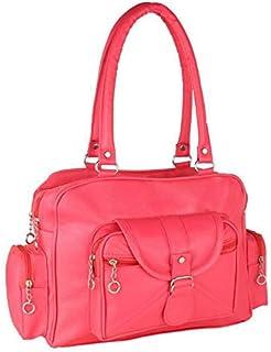 Bellina D pocket Pink Shoulder handbag for women