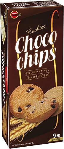 ブルボンチョコチップクッキー9枚×12箱