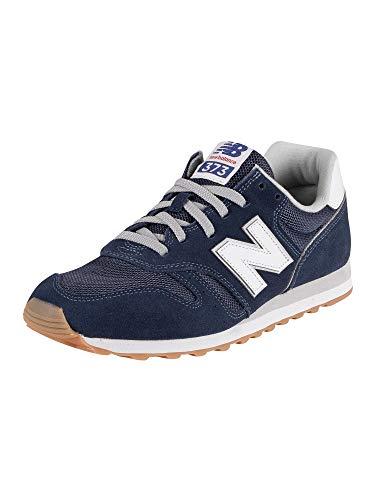 New Balance Herren 373v2 Sneaker, Blau (Navy/White Db2), 44 EU