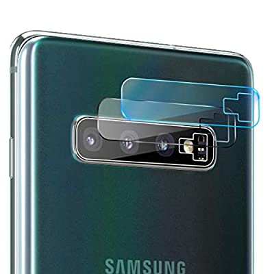 Casetego Compatible Galaxy S10 Plus/S10 Camera Lens Protector, [3 Pack] Ultra Thin Transparent Clear Camera Tempered High Definition Camera Lens Protector for Samsung Galaxy S10 Plus/S10,Clear