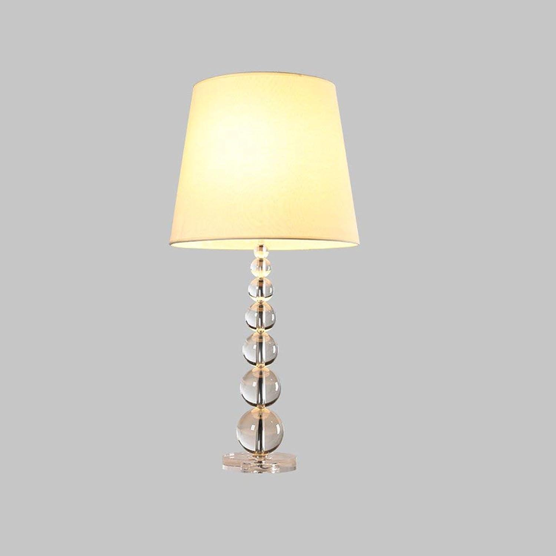 AME Tischlampe nordischen amerikanischen Land Licht einfache Kinder Schlafzimmer Schlafzimmer Nachttischlampe Luxus Kristall Lampe B07JVHLKB4     | Haltbarkeit