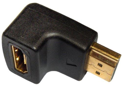 In-akustik Premium - Adaptador acodado HDMI (90°)