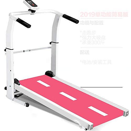 Yunmeng Loopband voor thuis, kleine mechanische loopmachine, inklapbaar, eenvoudig gewichtsverlies, multifunctionele fitnessuitrusting