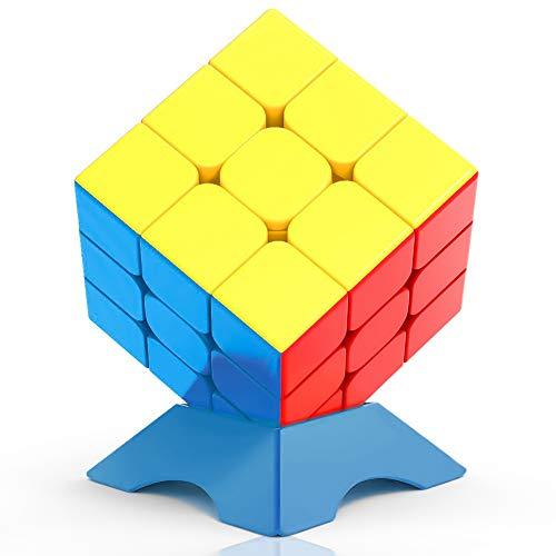 clasificación y comparación FAVNIC Speed Cube3x3, Magic Cube Qiyi Warrior, No Cube, Puzzle de cubo mágico de 3 × 3 velocidades (3 × 3) para casa