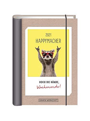 """Terminplaner 2021 """"Happymacher"""": Terminplaner Hardcover"""