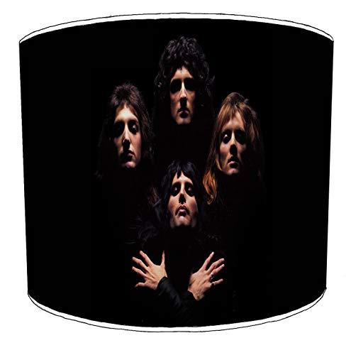 Premier Lighting Ltd 10 inch Queen Freddie Mercury Rock Bands paralumi1 per Una Lampada da Tavolo