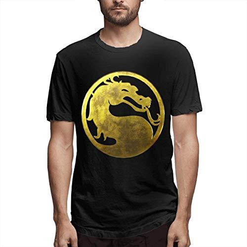 Whgdeftysd Gold Mortal K medaille stijlvol, Casual, comfortabel katoen mode korte mouwen T-Shirt 1