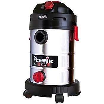 Cevik CE-PRO50XT Aspirador sólidos y líquidos, 1400 W, 230 V, Gris metalizado: Amazon.es: Bricolaje y herramientas