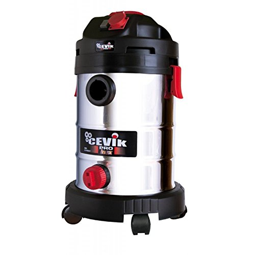 cevik Pro50 X T Vacuum Cleaner Solids and Liquids (Wheels, 1400 W,...