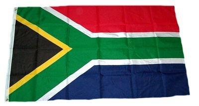 M & M MM Drapeau Afrique du Sud, résistant aux intempéries, Multicolore, 250 x 150 x 1 cm, 16290