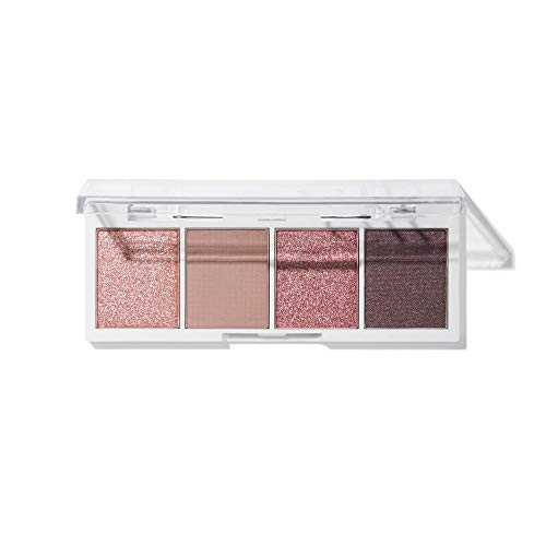 e.l.f, Bite-Size Eyeshadows, Creamy, Blendable, Ultra-Pigmented, Easy to Apply, Rose Water, Matte & Shimmer, 0.12 Oz