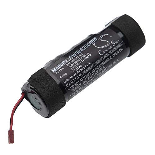 vhbw batterie remplace Philip Morris 1UR18650Z-C007A, BAT.000046.RD pour chargeur de cigarette electronique (3400mAh, 3.7V, Li-Ion)
