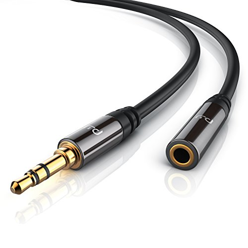 Primewire- 10m Cable Auxiliar de Audio Cable alargador 3.5mm