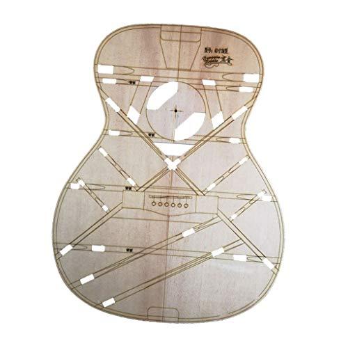 Holz Gitarre Vorlage Set Gitarre-Schablone für Gitarrenbauer, 40 Zoll