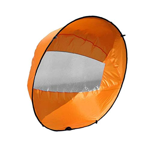 Tandem Cancella Kayak Vento Sail sottovento Paddle gonfiabile pieghevole Canoe Barche Accessori per kayak, canoe, barche gonfiabili, bordo di pala