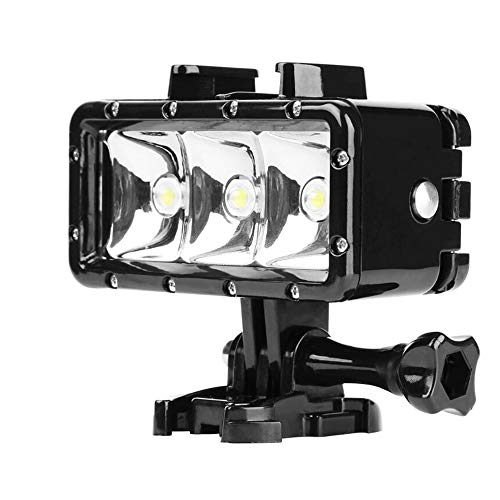 ZBDuDu 30 m Lámpara subacuática Diving Led Flash Light para GoPro Hero 5 3 + 4 4S XiaoMi yi 4K SJCAM sj 4000 sj6 sj7 Accesorios