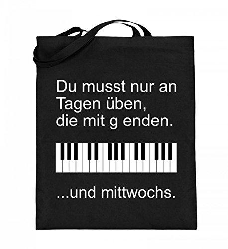 Chorchester Hochwertiger Jutebeutel (mit langen Henkeln) - Pianisten aufgepasst!