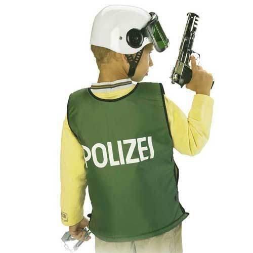 SALE Polizei Schutz Weste Kinder Kostüm Gr 140 by buy'n'get