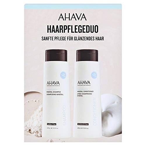 AHAVA Deadsea Water Mineral Hair Care Set (Shampoo,200ml+Conditioner,200ml)