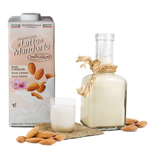 Latte di Mandorla Monardo Calabrese 6 confezioni da 1 Litro Soriano Calabro