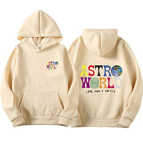 Travis Scott ASTROWORLD Wish You were HERE Hoodies Mode Brief ASTROWORLD Kapuzenpullover Streetwear Herren Damen Pullover Sweatshirt 3 pcs (Einschließlich: 3 teiliges Sweatshirt)