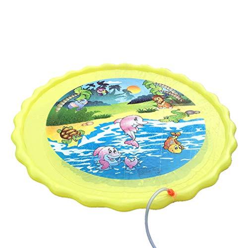 WINOMO Divertido Tapete Plegable Creativo de Rociador de Agua Cojín de Juego Almohadilla de Rociador Estera para Jugar Al Aire Libre