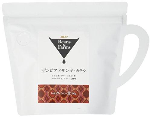 『UCC Beans&Farms コーヒー豆 (粉) ザンビア イザンヤ・カテシ 100g』のトップ画像